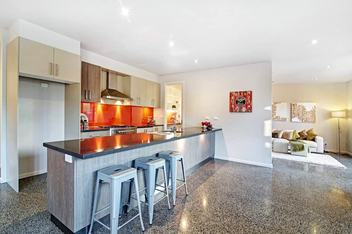 Precision Glass Splashback kitchen