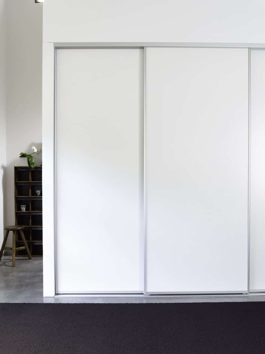 Pivotech wardrobe doors rug