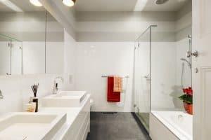 Precision Shower Screens Bathroom frameless shower screen
