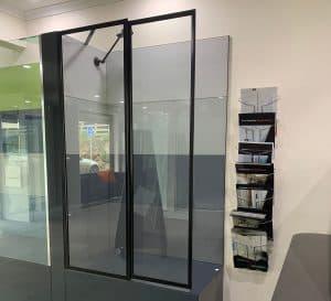 Precision Shower Screens black shower frame