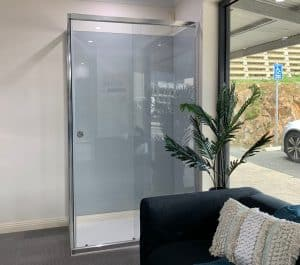 Precision Shower Screens framed shower demo