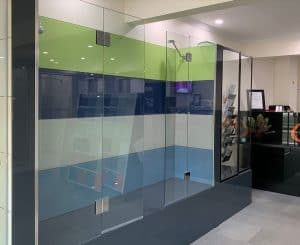 Precision Shower Screens shower demo
