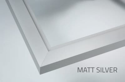 Shower Screen Frame Matt Silver